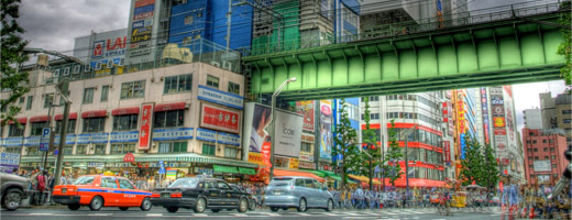 Tokyo HDR Photography